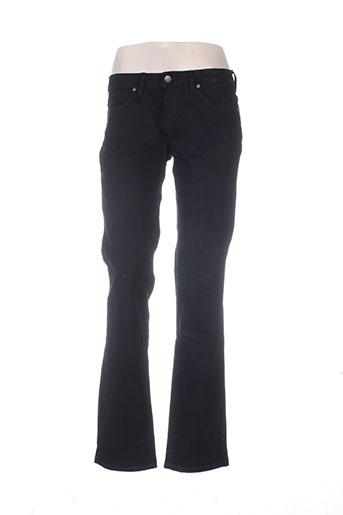 Jeans coupe slim noir BIG STAR pour femme