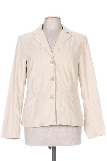 Veste chic / Blazer beige CONCEPT K pour femme