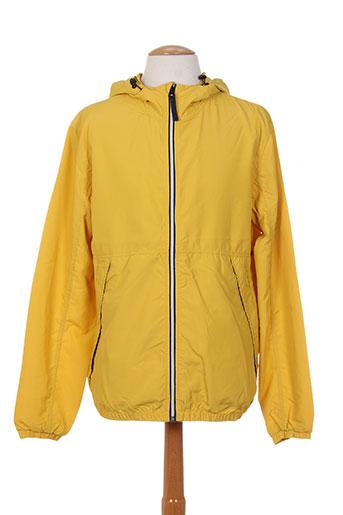 jack EFFI_CHAR_1 jones manteaux homme de couleur jaune