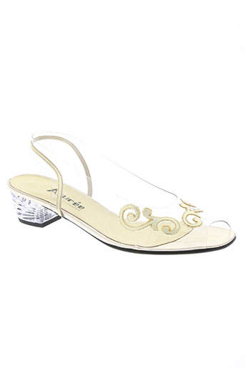 azuree chaussures femme de couleur jaune