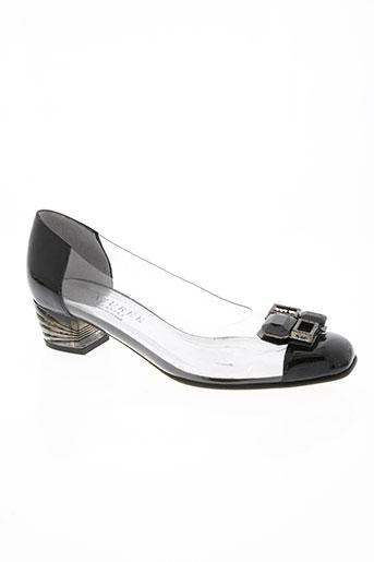azuree chaussures femme de couleur noir