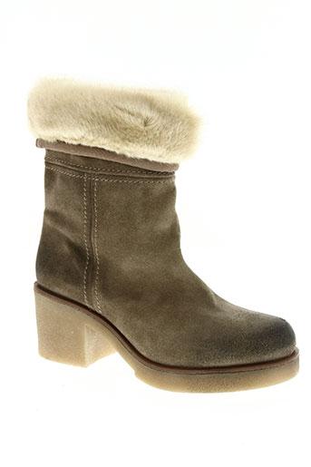 jfk chaussures femme de couleur beige