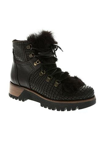 manas chaussures femme de couleur marron