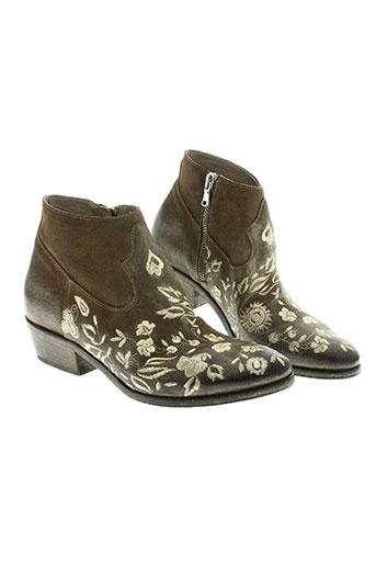 strategia chaussures femme de couleur beige