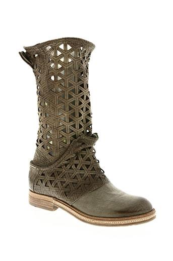 a.s.98 chaussures femme de couleur beige