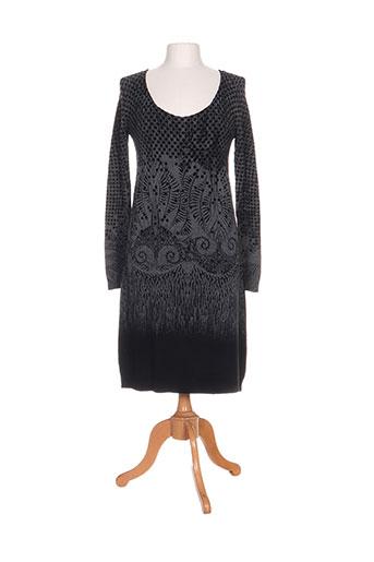 eroke robes femme de couleur noir