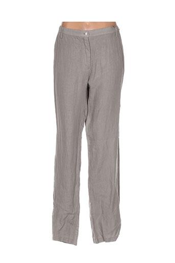riviere pantalons femme de couleur marron