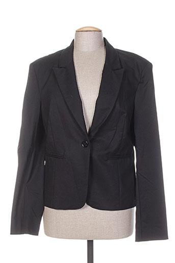 Veste chic / Blazer noir FRACOMINA pour femme