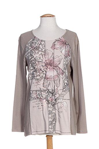 bagoraz t-shirts femme de couleur gris