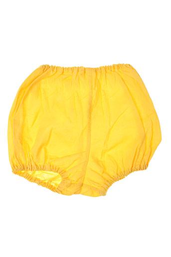 cacharel lingerie fille de couleur jaune