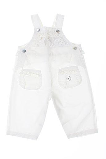 les bebes de floriane combinaisons fille de couleur blanc
