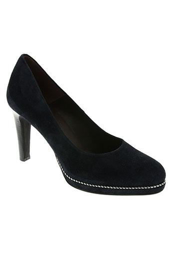 rosemetal chaussures femme de couleur bleu