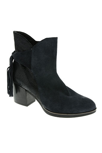 gaimo chaussures femme de couleur bleu
