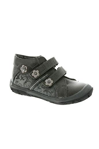 bopy chaussures fille de couleur gris