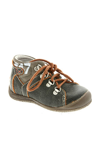 gbb chaussures garçon de couleur marron