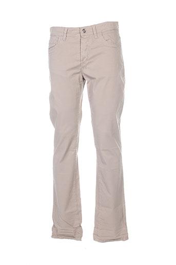 bikkembergs pantalons homme de couleur beige