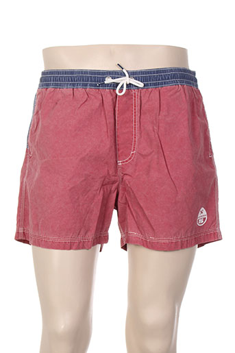 north sails maillots de bain homme de couleur rouge
