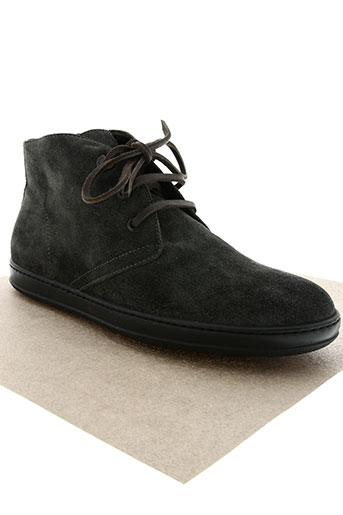 moncler chaussures homme de couleur gris