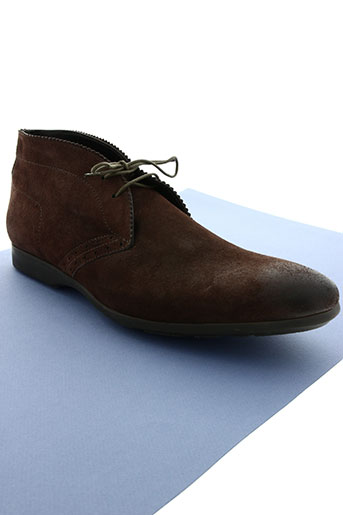 paul smith chaussures homme de couleur marron