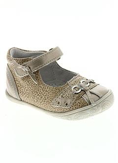 Chaussures à boucle Babybotte beiges fille VMujTSSGUh