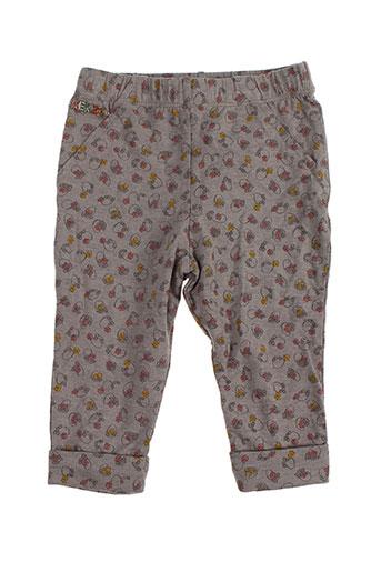 kenzo pantalons fille de couleur gris