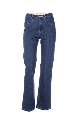 i.quing jeans femme de couleur bleu