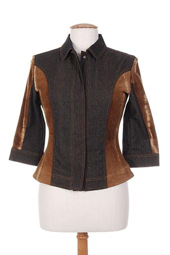 legatte vestes femme de couleur marron