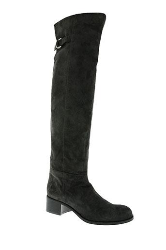 luciano padovan chaussures femme de couleur gris
