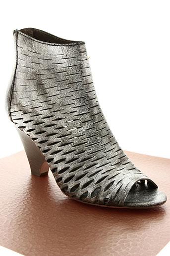 strategia chaussures femme de couleur gris
