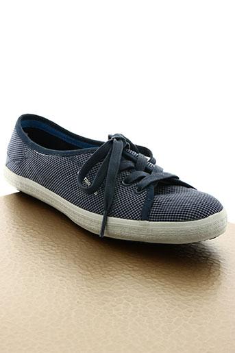 g star chaussures femme de couleur bleu