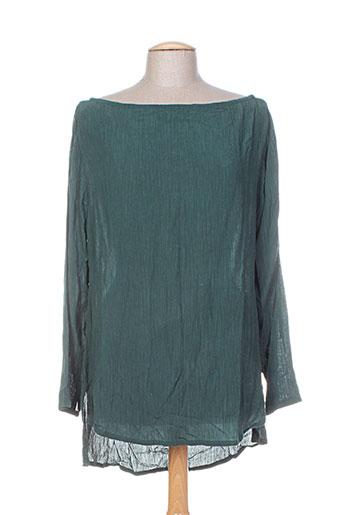 bakker tuniques femme de couleur vert