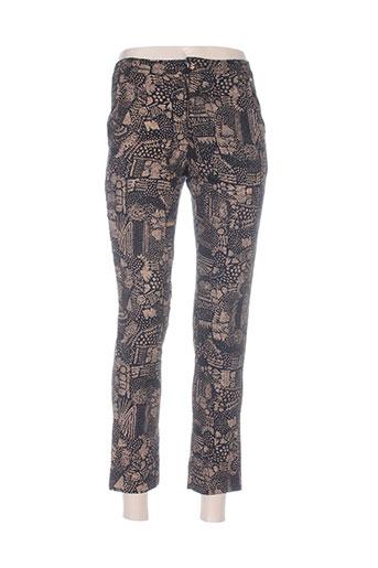 skunkfunk pantalons femme de couleur noir