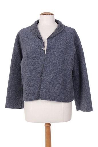 l'atelier d'anna vestes femme de couleur bleu