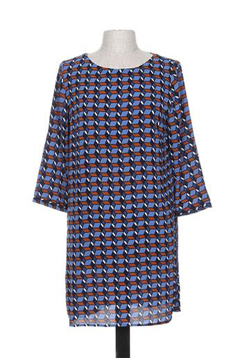 noémie EFFI_CHAR_1 co robes femme de couleur bleu