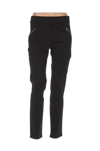 halogene pantalons femme de couleur noir