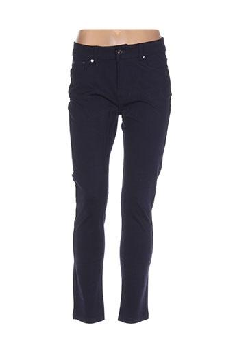 dolce EFFI_CHAR_1 rosa pantalons femme de couleur bleu