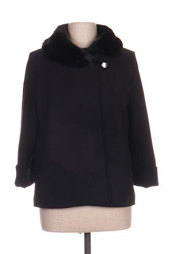 artigli manteaux femme de couleur noir