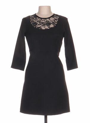 Robe courte noir ARTIGLI pour femme