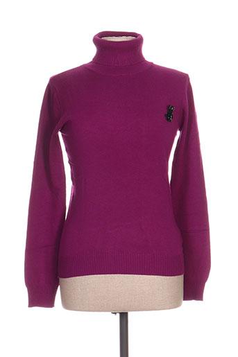 relish pulls femme de couleur violet
