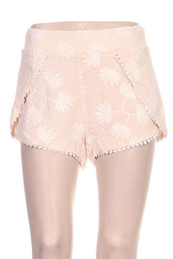 amenapih shorts / bermudas femme de couleur rose