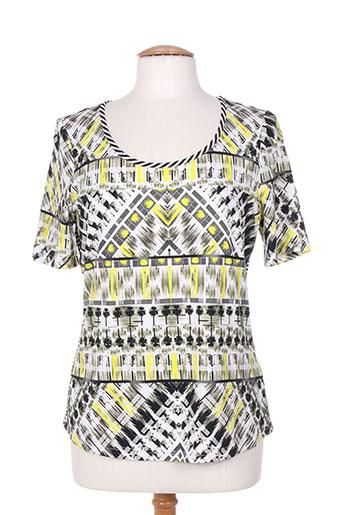 leslie t-shirts femme de couleur noir