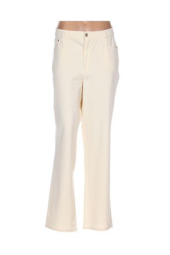 rosa rosam jeans femme de couleur beige