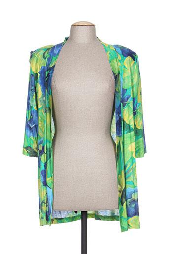 chassagnard vestes femme de couleur vert