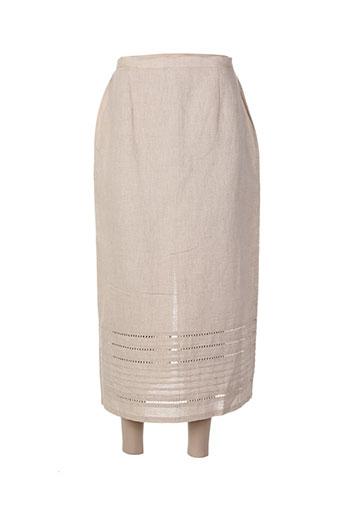 lewinger jupes femme de couleur beige