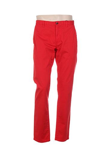 gant pantalons homme de couleur rouge