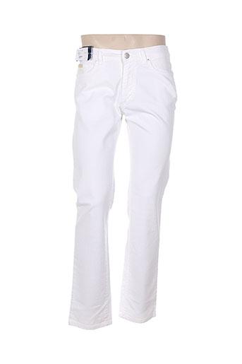 trussardi jeans jeans homme de couleur blanc