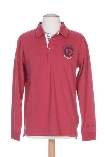 la squadra t-shirts homme de couleur rouge