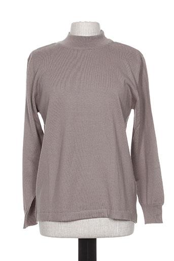 griffon pulls femme de couleur gris