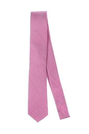 jean chatel accessoires homme de couleur rose