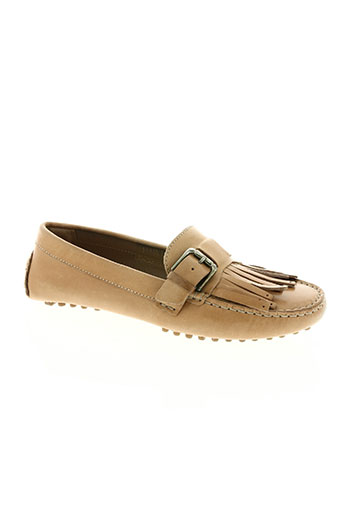 voyagers chaussures femme de couleur beige